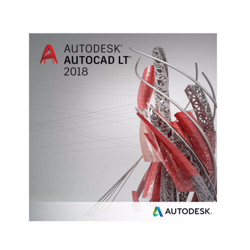 Графический пакет Autodesk AutoCAD LT 2018 Commercial New Single-user
