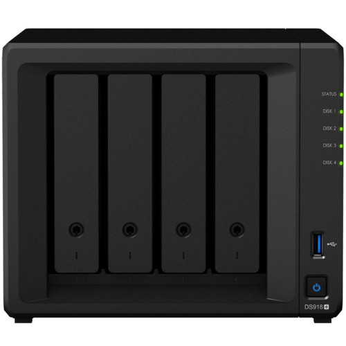 Дисковая СХД Synology DiskStation DS918+ (Tower)