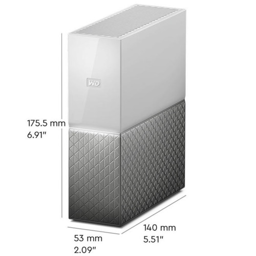 Дисковая СХД Western Digital My Cloud Home (2ТБ) (Tower)
