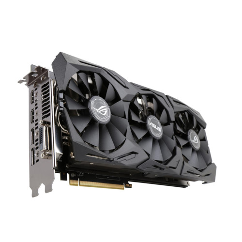 Видеокарта Asus ROG STRIX RX580 T8G GAMING 256-bit 8Gb