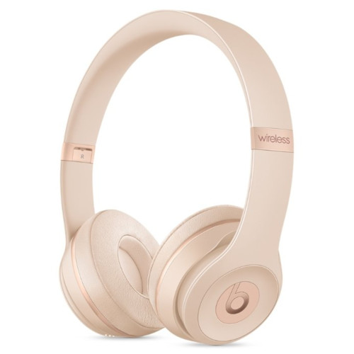 Наушники Beats Solo3 Wireless On-Ear Headphones - Matte Gold