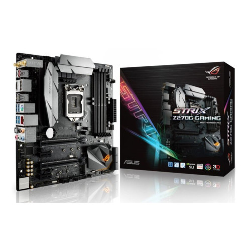 Материнская плата Asus STRIX Z270G GAMING (Micro ATX, Socket 1151)
